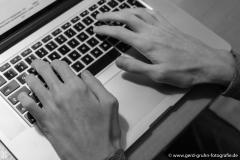 arbeitende HändeProgrammierer